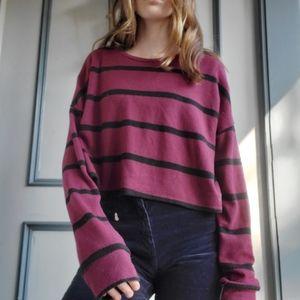 maroon fall shirt/sweater